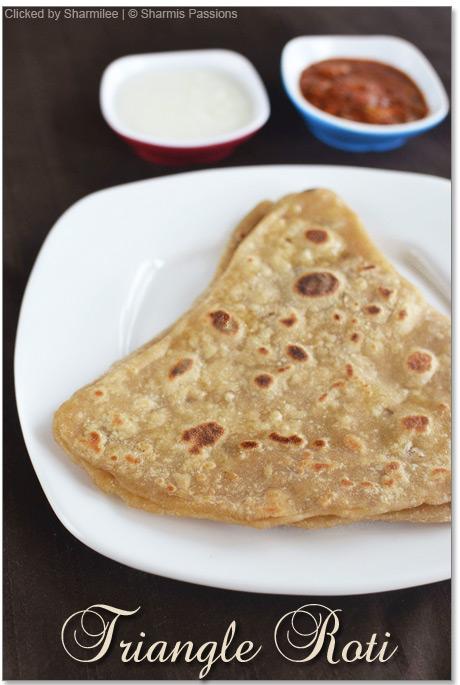 Triangle Paratha Recipe