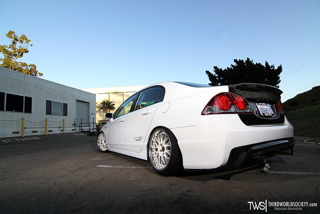 Civic SI on Works for Stance Nation