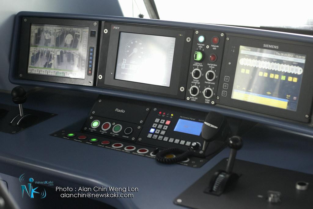 Cockpit of KTM SCS