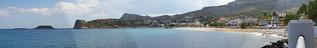 صورة Stegna Beach (Παραλία Στεγνών) Stegna Beach. panorama beach fotografie medium erik jacobs rhodos stegna