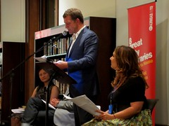 Rhys Muldoon at Raunchy Romance Storytime (Customs House Library, 7/3/2012)