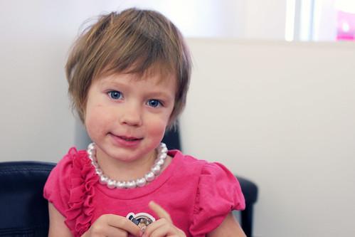 Nora Lea's first haircut
