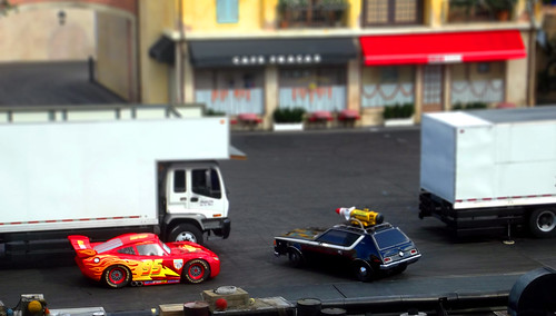 Disney's Cars Tilt Shift