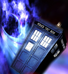 Flying Tardis
