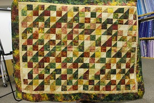 Scrap quilt by Stacey