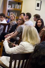 Penn President Amy Gutmann at Kelly Writers House