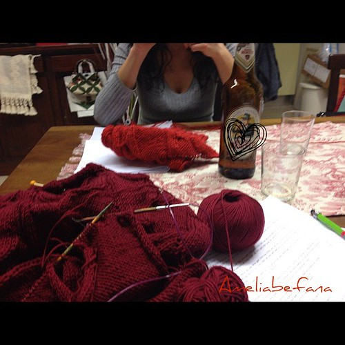 Knit & beer
