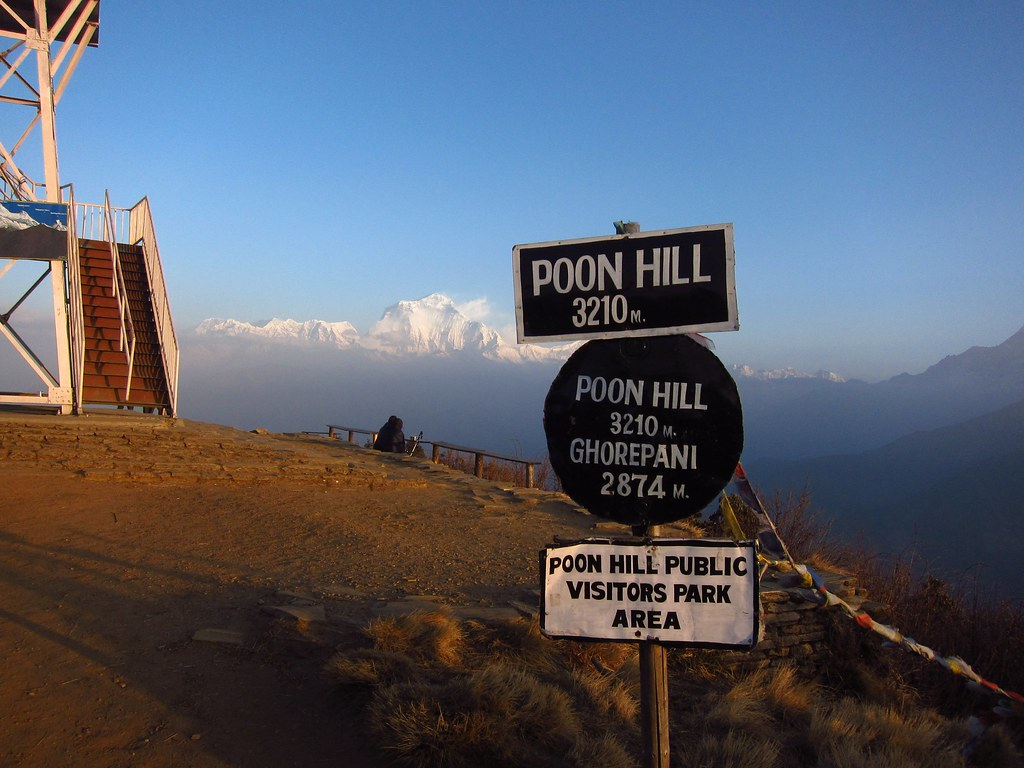 Poon Hill, Sunrise, Nepal. Foto: Fabulousfabs