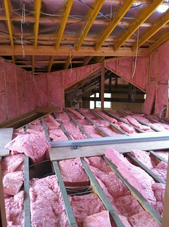 Upstairs Insulation