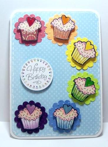 Rainbow Cupcakes by judkajudy