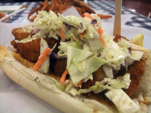 Fried Catfish Po Boy
