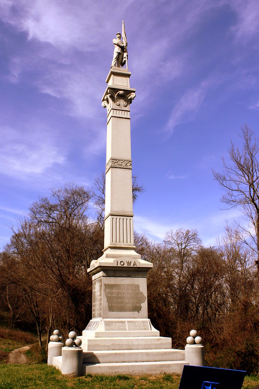 Iowa Civil War Monument - Lookout Mountain