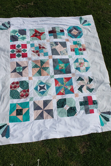Sew Happy Geek Quilt Along - Top is finished