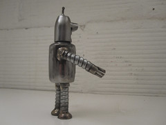 Bender Robot Sculpture