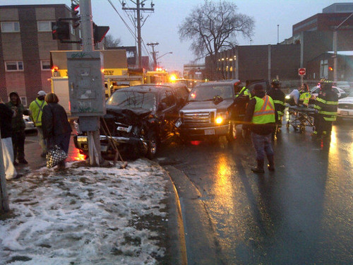Fredericton Car Accident Today
