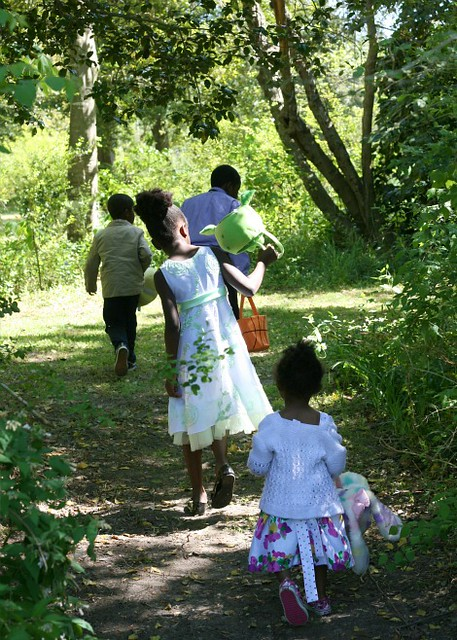 Easter egg hunt at Chippokes Plantation State Park