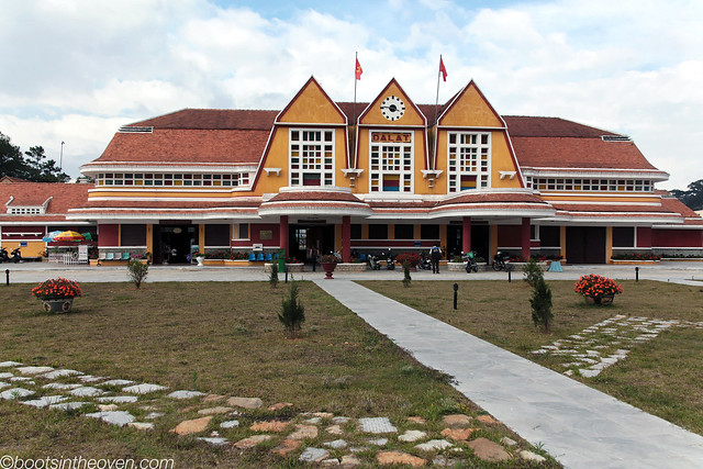 Dalat's unused train station (Ga Đà Lạt)