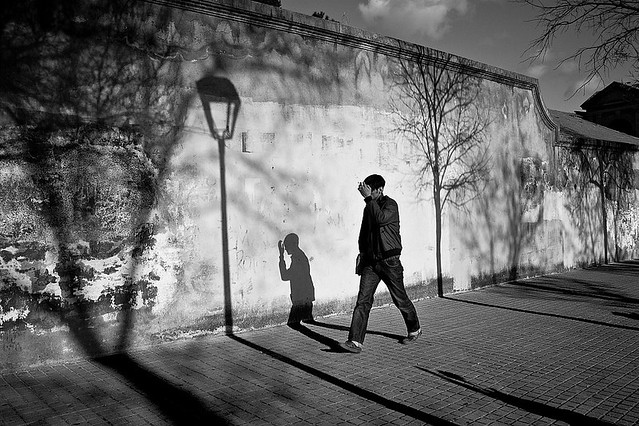 Where the shadows have no name - Great Examples of Shadows in Street Photography