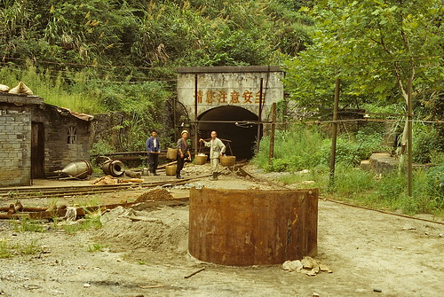 Tin and tungsten mining in southeastern Hunan Province, China