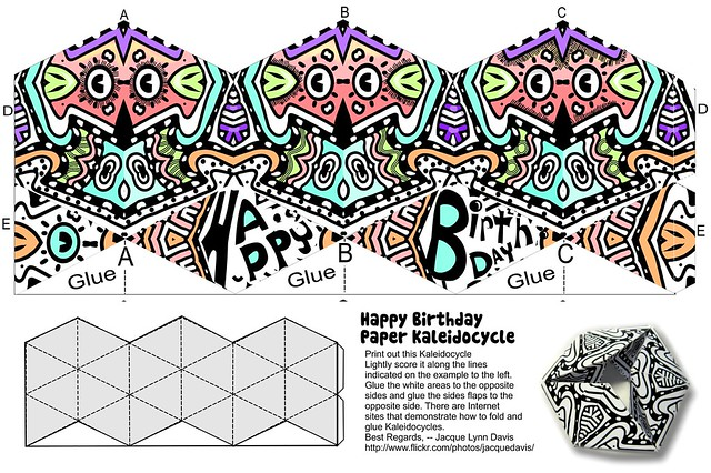 Happy Birthday Kaleidocycle : Flickr - Photo Sharing!