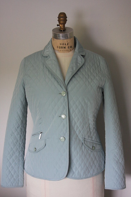 Talbot's quilted jacket -front