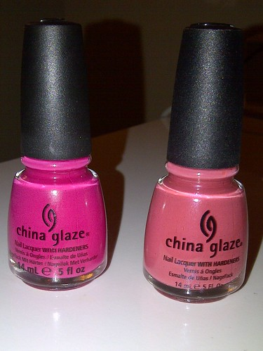 China Glaze Wicked Style & China Glaze Wild Mink