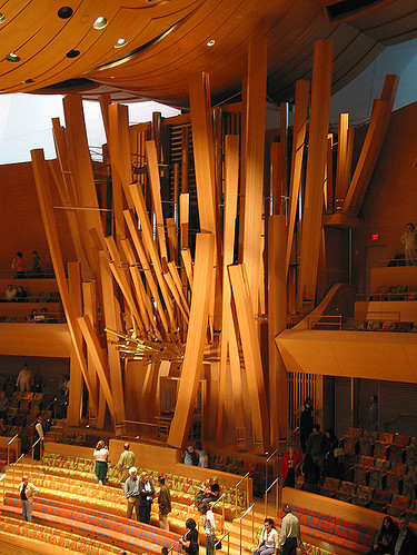 Disney Concert Hall - Organ