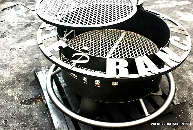"""CUSTOM DESIGNS, CHARCOAL GRATE, 2"""" SOLE SAVER AND REGULAR GRILL"""