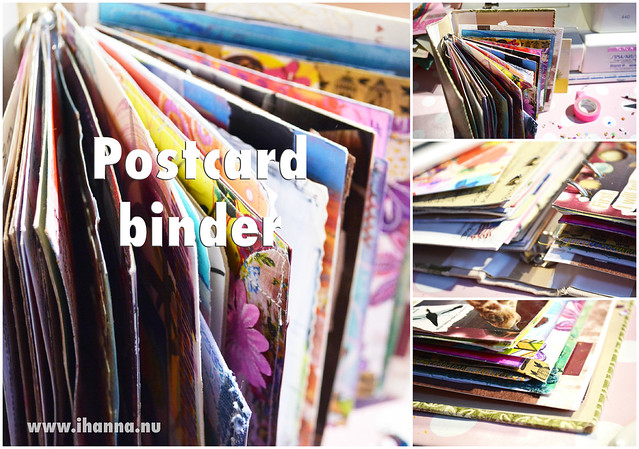 DIY Postcard Binder