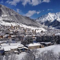 30.03.14 Good morning #Mestia #Svaneti #Georgia