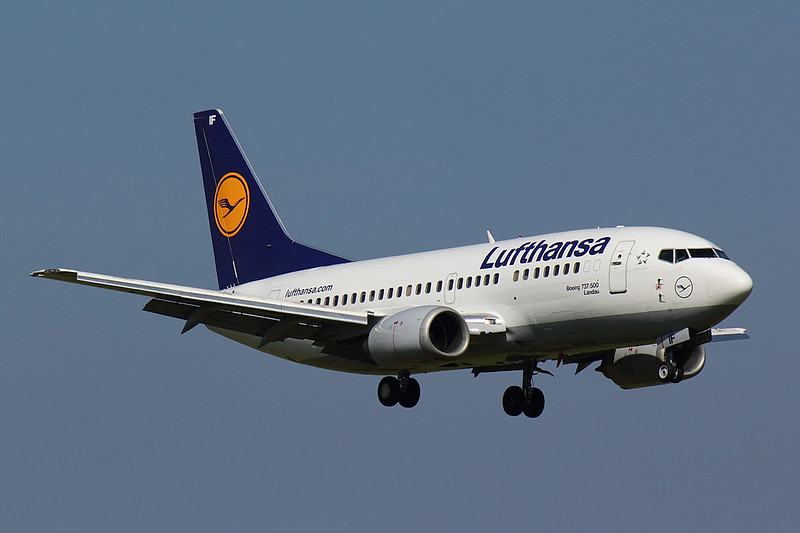 Lufthansa - B735 - D-ABIF (1)