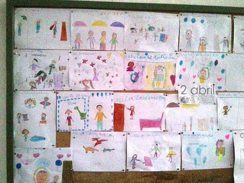 AionSur 13605014035_e0284e3c64_d El colegio San Roque se viste de azul para celebrar el Día Mundial del Autismo Educación