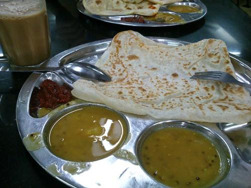 到吉隆坡的印度Style早餐