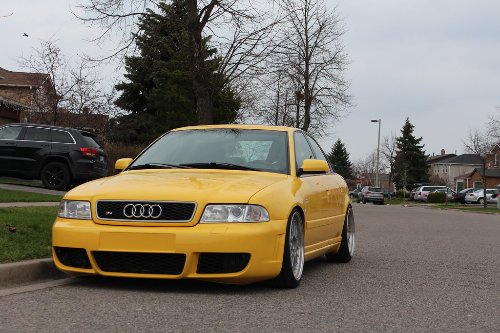 For Sale: 2000 Audi S4 Imola Yellow Stage 3