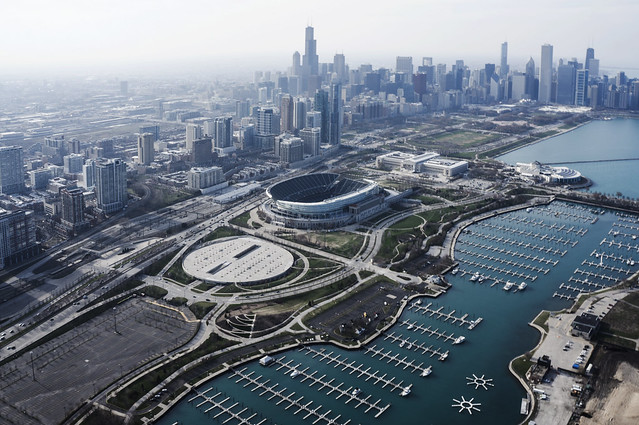 "Soldier Field - домашний стадион ""Чикаго Беарз"""