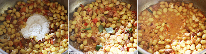 How to make butter beans masala - Step4
