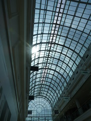 Royal Priors Shopping Centre - Leamington Spa - glass ceiling