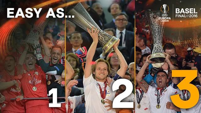 Sevilla FC: 5 Europa League, las 3 últimas seguidas
