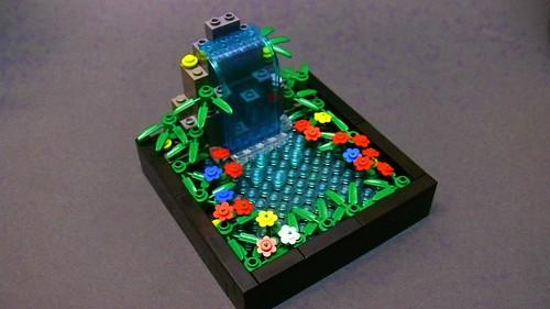 LEGO Waterfall (6)