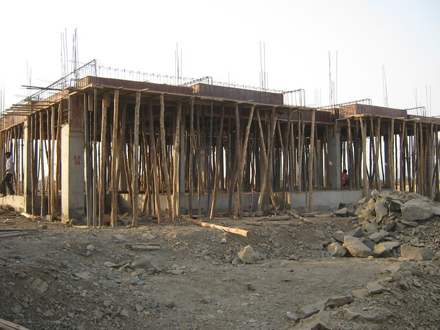 Villa - ready for 1st Slab - Life Republic - Hinjewadi Marunji - on 22nd February 2012 - World Thinking Day