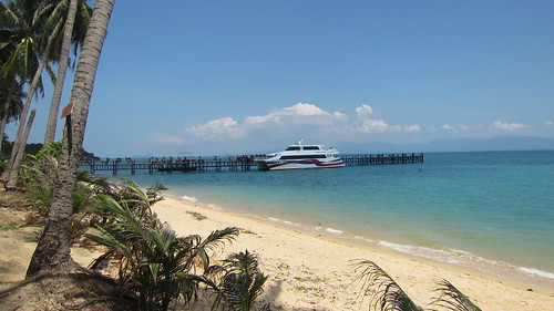 Koh Samui Lomprayah Pier & Wat Napalarn サムイ島ロンプラヤピア周辺 (1)