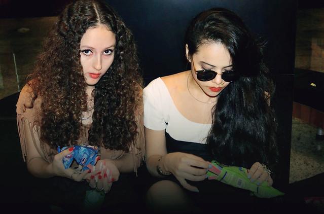Clara Campelo e Camilla Brozzo