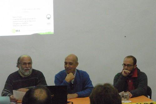 Conferencia Pedro Pietro en la Tejedora