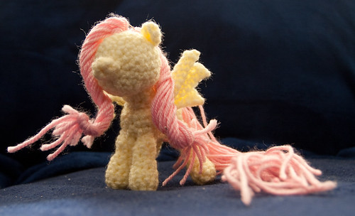Amigurumi Fluttershy (Crochet My Little Pony in progress)