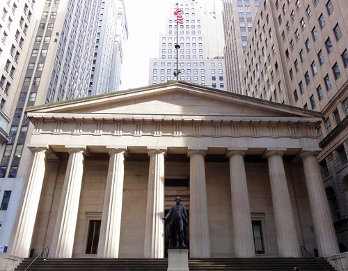 Federal Hall Wall Street New York