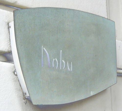 Nobu New York sign