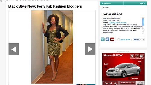 Essence.com 40 Fab Fashion Bloggers