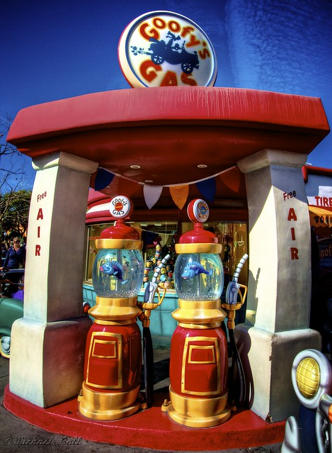 Fill Up at Goofy's Gas!
