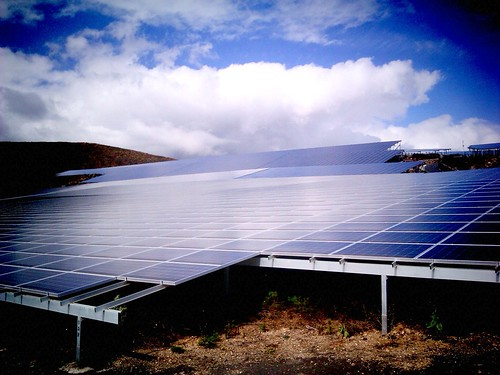 Paneles solares en Arico, Tenerife