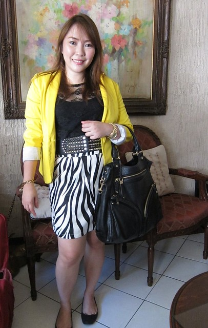 Black & White + Yellow